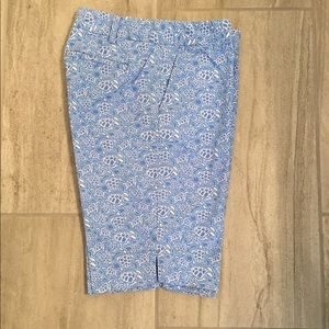 Vineyard Vines Blue Sea Turtle Bermuda Shorts